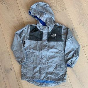 The North Face rain jacket